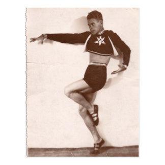 Dancer, 1936 postcard