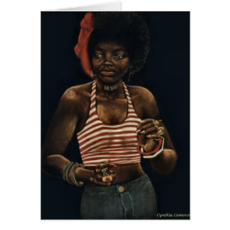 Dancer - African-American Woman Greeting Card