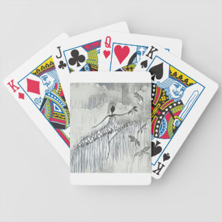 DANCER AND DRAGONFLIES 11 BICYCLE PLAYING CARDS