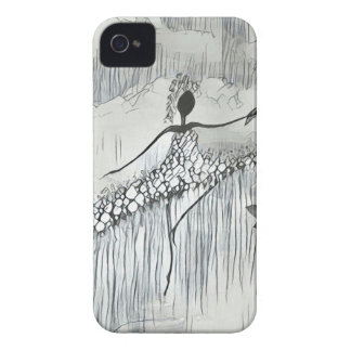 DANCER AND DRAGONFLIES 11 Case-Mate iPhone 4 CASE