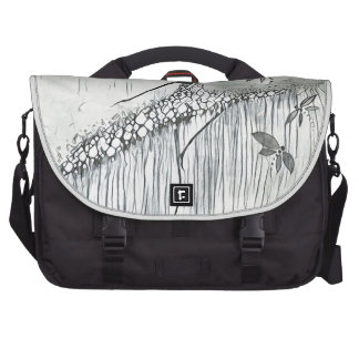 DANCER AND DRAGONFLIES 11 LAPTOP BAG