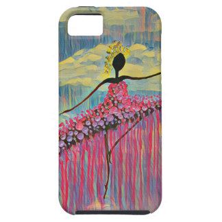 DANCER AND DRAGONFLIES 12 CASE FOR THE iPhone 5