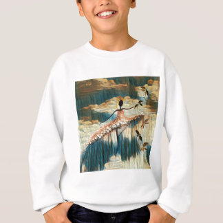 DANCER AND DRAGONFLIES 14 SWEATSHIRT