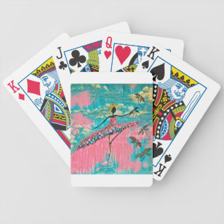 DANCER AND DRAGONFLIES 15 BICYCLE PLAYING CARDS