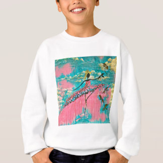 DANCER AND DRAGONFLIES 15 SWEATSHIRT
