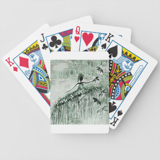DANCER AND DRAGONFLIES 16 BICYCLE PLAYING CARDS
