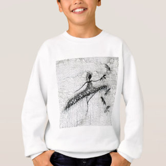 DANCER AND DRAGONFLIES 17 SWEATSHIRT