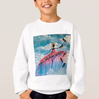 DANCER AND DRAGONFLIES 18 SWEATSHIRT