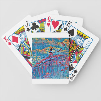 DANCER AND DRAGONFLIES 19 BICYCLE PLAYING CARDS