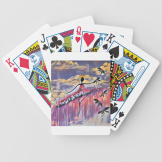 DANCER AND DRAGONFLIES 20 BICYCLE PLAYING CARDS