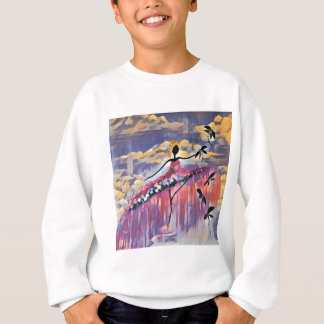 DANCER AND DRAGONFLIES 20 SWEATSHIRT