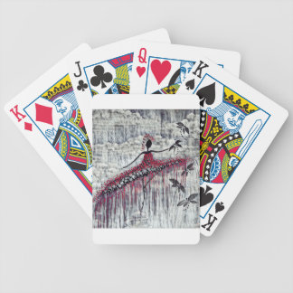 DANCER AND DRAGONFLIES 21 BICYCLE PLAYING CARDS