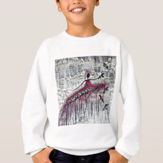 DANCER AND DRAGONFLIES 21 SWEATSHIRT
