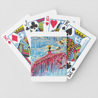 DANCER AND DRAGONFLIES 22 BICYCLE PLAYING CARDS