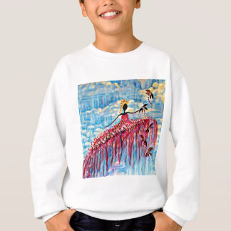 DANCER AND DRAGONFLIES 22 SWEATSHIRT