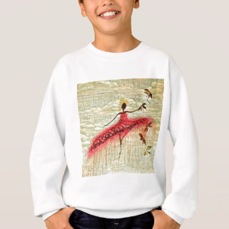 DANCER AND DRAGONFLIES 23 SWEATSHIRT