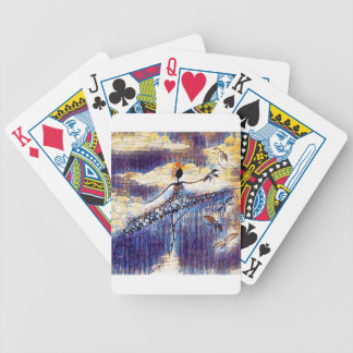 DANCER AND DRAGONFLIES 25 BICYCLE PLAYING CARDS