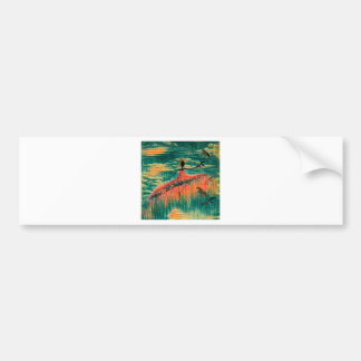 DANCER AND DRAGONFLIES 26 BUMPER STICKER