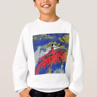 DANCER AND DRAGONFLIES 28 SWEATSHIRT