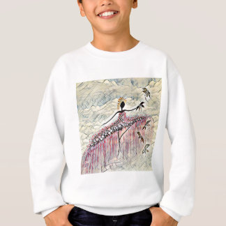 DANCER AND DRAGONFLIES 2 SWEATSHIRT
