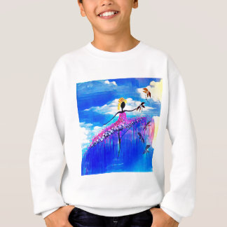 DANCER AND DRAGONFLIES 31 SWEATSHIRT