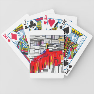 DANCER AND DRAGONFLIES 33 BICYCLE PLAYING CARDS