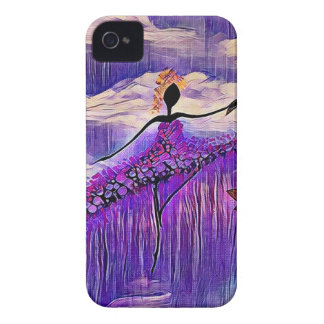 DANCER AND DRAGONFLIES 7 iPhone 4 CASE