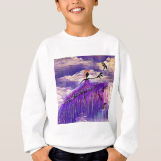 DANCER AND DRAGONFLIES 7 SWEATSHIRT