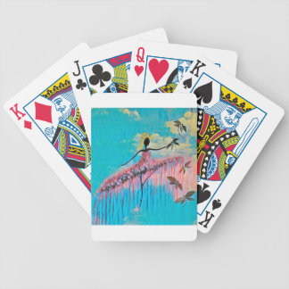 DANCER AND DRAGONFLIES 9 BICYCLE PLAYING CARDS