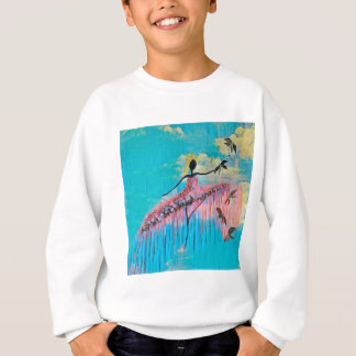 DANCER AND DRAGONFLIES 9 SWEATSHIRT