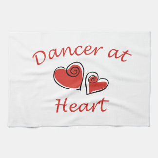 Dancer at Heart Hand Towels