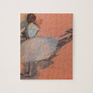 Dancer at the Bar by Edgar Degas, Vintage Ballet Jigsaw Puzzle