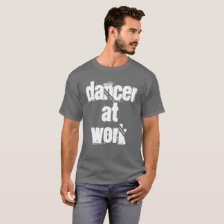 Dancer at Work Men's Grey T-Shirt