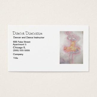 Dancer Business Card