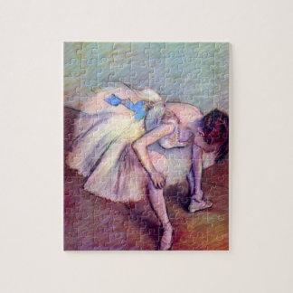Dancer by Edgar Degas, Vintage Ballet Art Jigsaw Puzzle