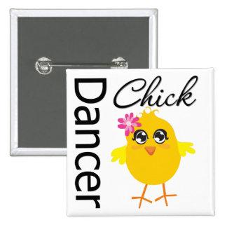 Dancer Chick Pins