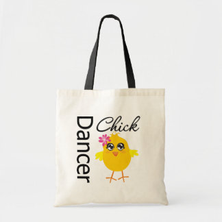 Dancer Chick Tote Bags