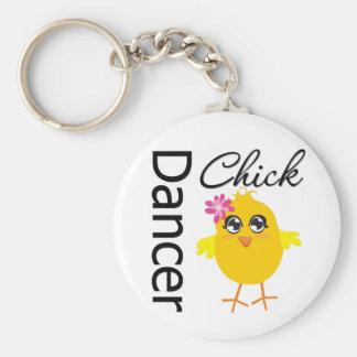 Dancer Chick Key Chains