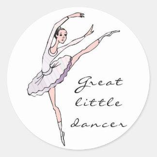 Dancer Classic Round Sticker