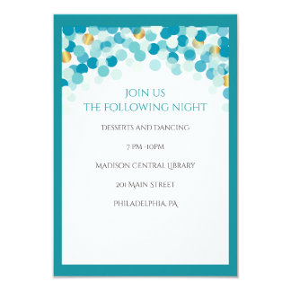 DANCER DOTS Bat Mitzvah Invitation
