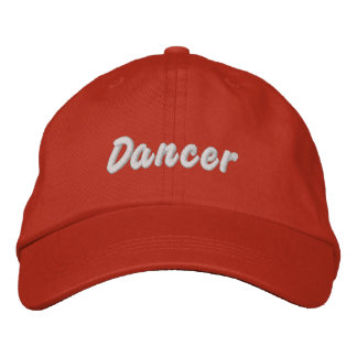 Dancer Embroidered Hats