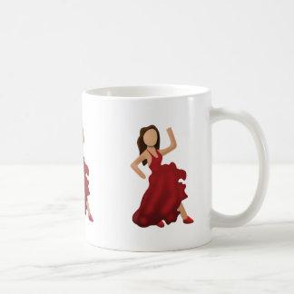 Dancer Emoji Basic White Mug