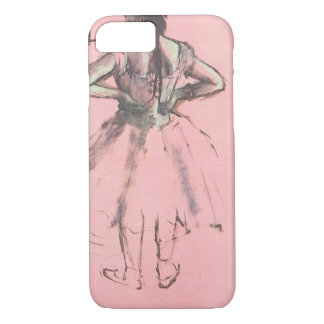 Dancer from the Back by Edgar Degas Vintage Ballet iPhone 8/7 Case