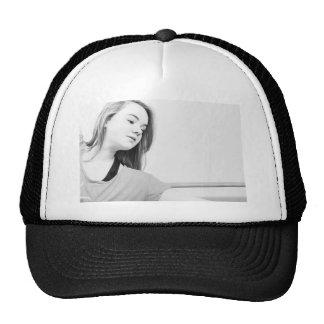 dancer girl mesh hats