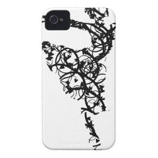 dancer hearts2 iPhone 4 cases