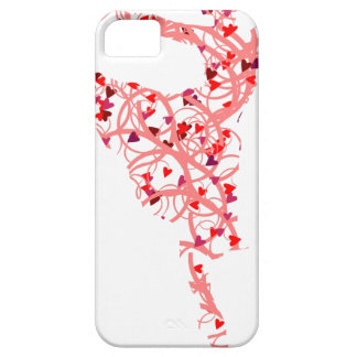 dancer hearts iPhone 5 case