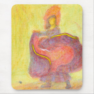 Dancer in Chinese Costume, Mousepad