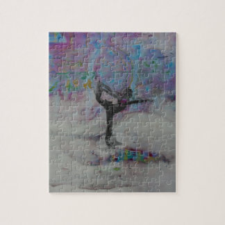 Dancer in the Snow - Puzzle