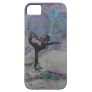Dancer In The Snow Yoga Girl Barely There iPhone 5 Case