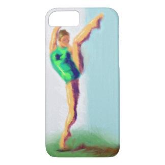 Dancer Leg Raised Art iPhone 7 Case